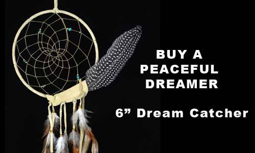 TanPeaceful Dreamer Dream Catcher