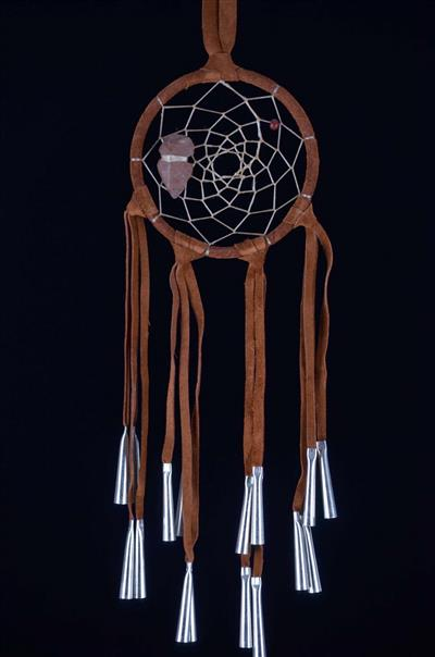 Spirit Warrior dreamcatcher (2.5 inch)