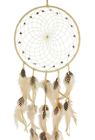 9 inch Semi-Precious Stone Dream Catcher