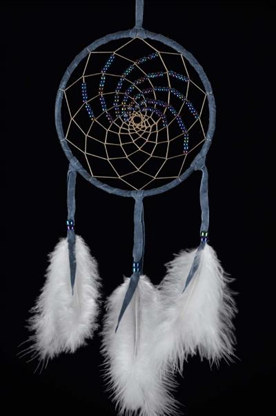 Blue 5 Inch Northern Lights Dream Catcher