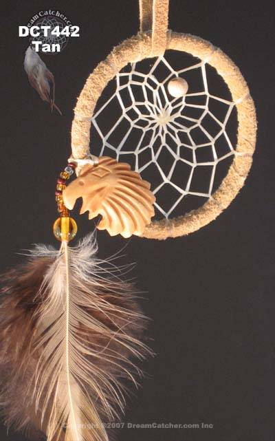 Eagle totem dream catcher (2 inch)