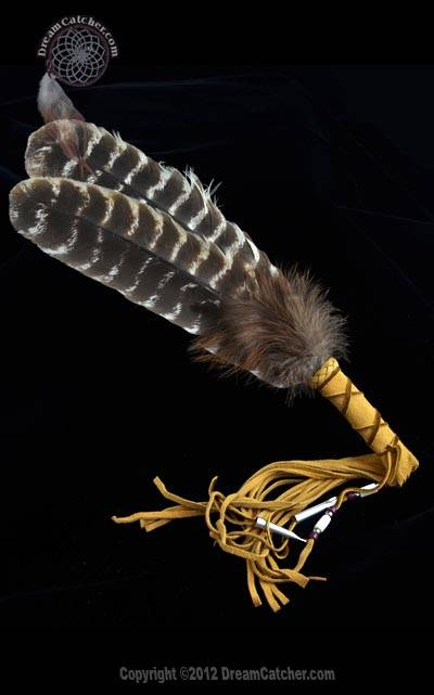 Mohawk Double Smudge Feather