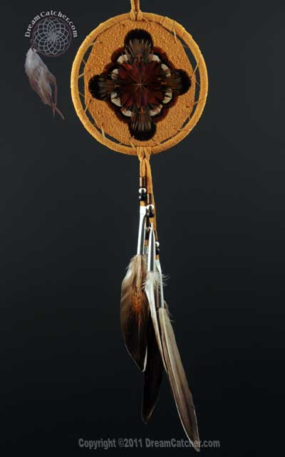 Black Mohawk Medicine Shield - (5 Inch)