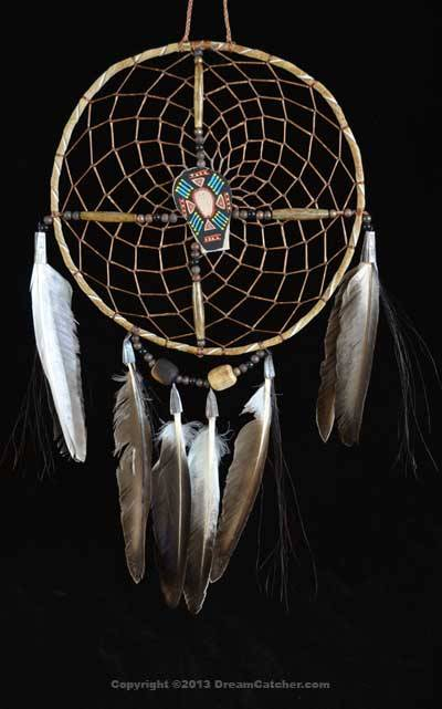 Navajo Spirit Wheel With Black Painted Center(6 Inch)