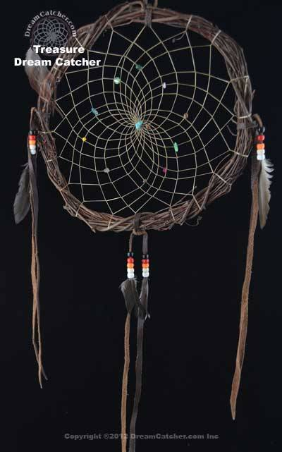 Treasure Dream Catcher (18 Inch) Navajo Made
