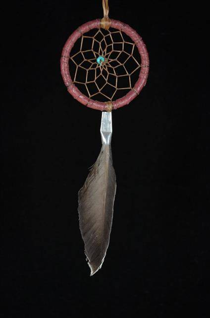 Two Inch Duck Feather Dream Catcher