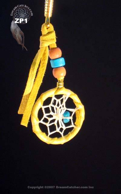 Dreamcatcher Zipper Pull with Turquoise