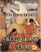 Sweet Grass And Cedar Soap