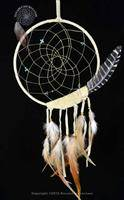 Tan Peaceful Dreamer Dreamcatcher